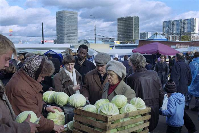 Росія 90-х очима іноземного фотографа (20 фото)