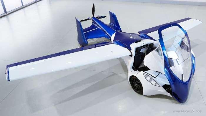 У 2017 році почнеться серійне виробництво літаючих автомобілів (9 фото)