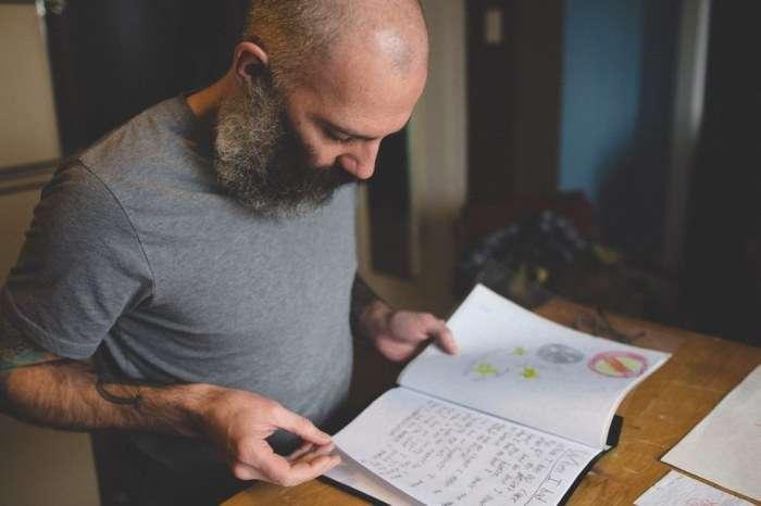 Дитячі малюнки перетворилися в татуювання на руках батька (10 фото)