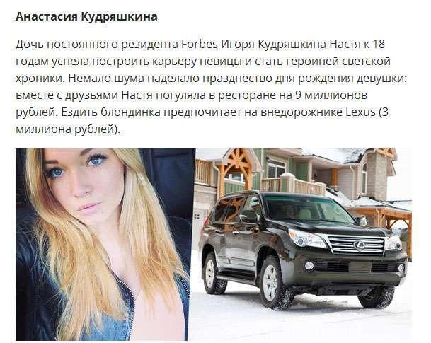 На чому їздить «золота молодь» Росії (10 фото)
