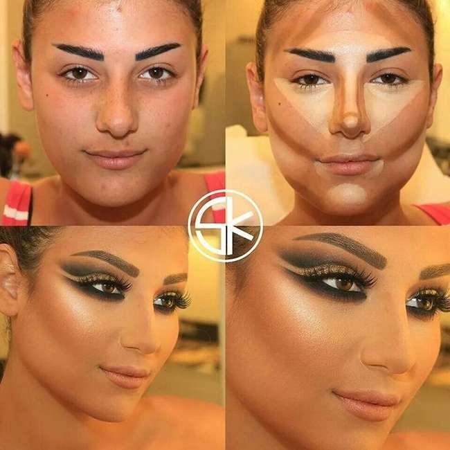 Чудеса макіяжу від візажиста Саміра Хузами (10 фото)