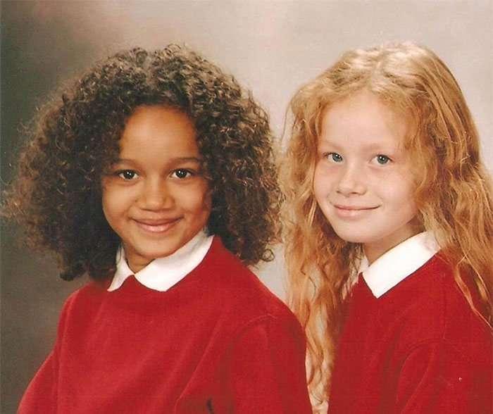 Що може споріднення цих двох дівчат? (11 фото)