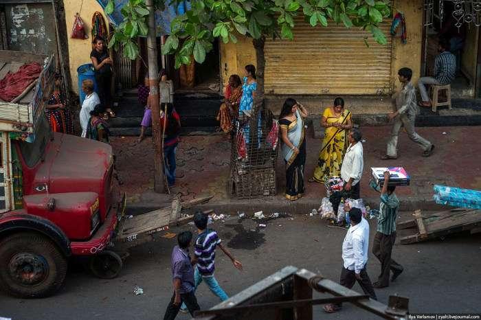 Прогулянка по кварталу Каматипура індійського міста Мумбаї (21 фото)