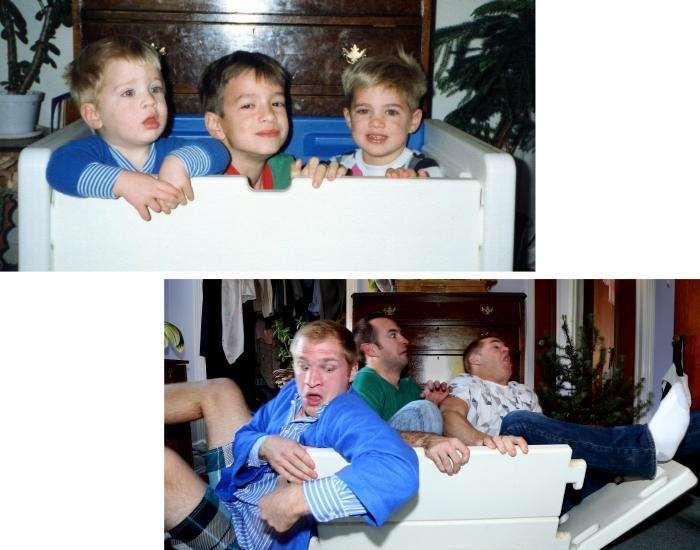 Різдвяний подарунок для мами від її креативних синів (13 фото)