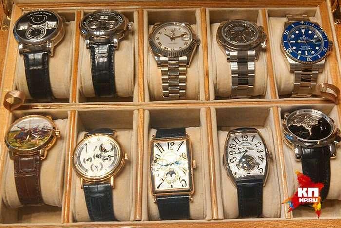 Губернатор Сахаліну Олександр Хорошавин зібрав колекцію годинників на 2 мільйони доларів (7 фото)