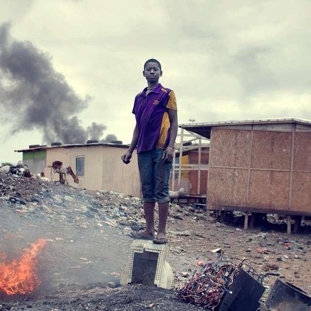 Звалище Агбогблоши - найбрудніше місце на планеті (21 фото)