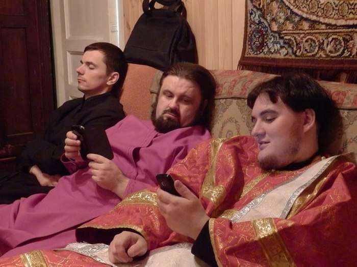 Трудові будні і розваги колег по роботі Павла і Сергія (11 фото)