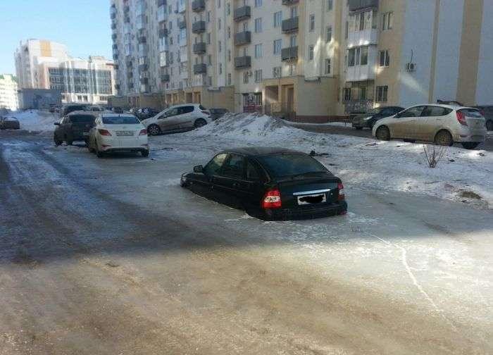 Чим загрожує неправильно вибране місце паркування (3 фото)