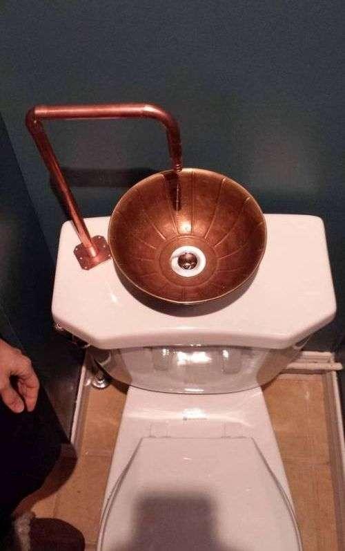 Цікаве пристрій для економії води (9 фото)