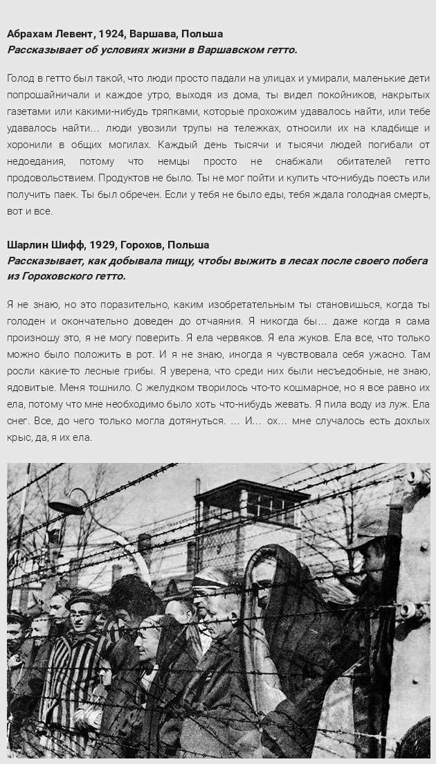 Спогади жертв Голокосту (11 фото)