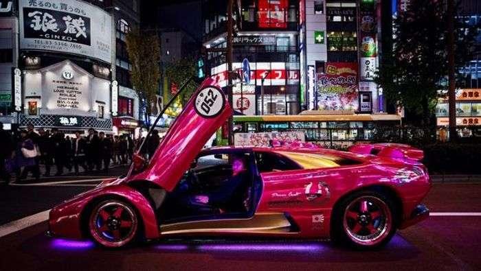 У Токіо пройшов зїзд власників унікальних суперкарів Lamborghini (23 фото + відео)