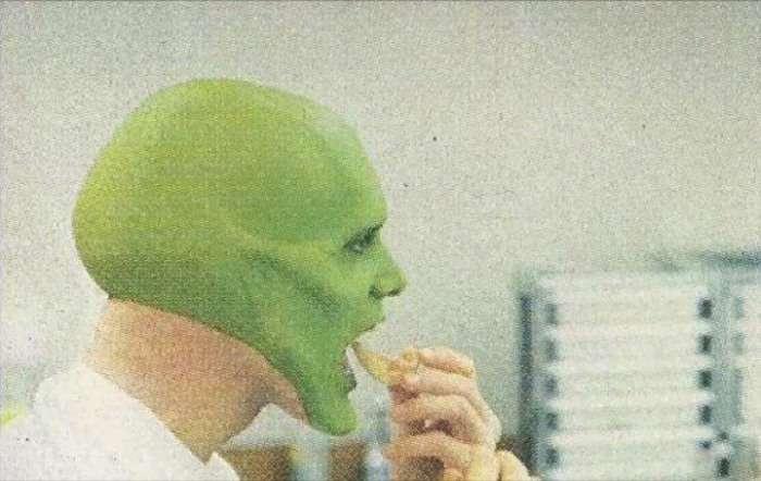 Як Джима Керрі перетворювали в Маску (7 фото)