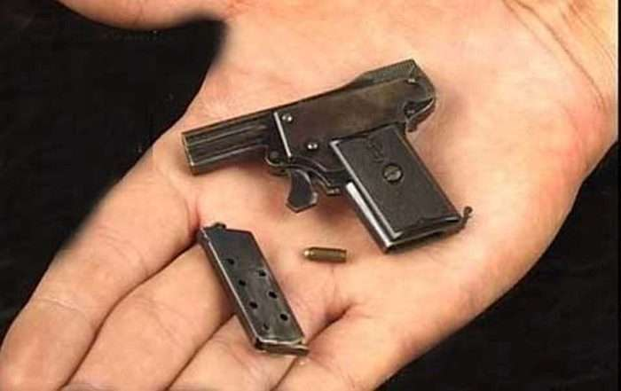 «Колібрі» - самий маленький пістолет для самооборони у світі (7 фото)