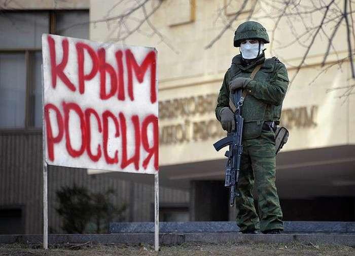«Ввічливі люди» або «зелені чоловічки» в Криму (21 фото)