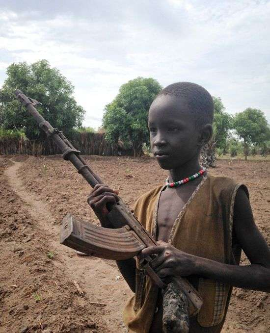 Як живуть люди в Південному Судані (8 фото)
