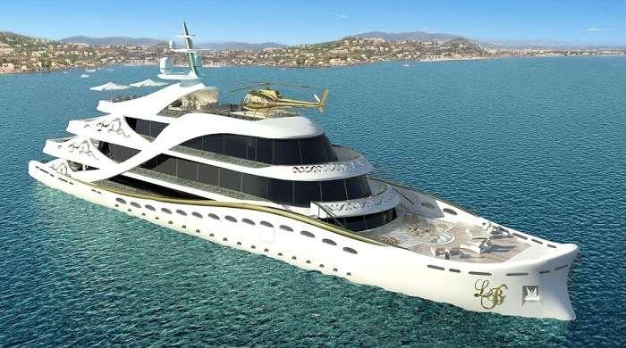 Розкішна яхта для жінок-мільйонерів від Лідії Берсані (8 фото)