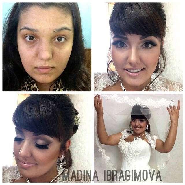 Величезна сила макіяжу (41 фото)