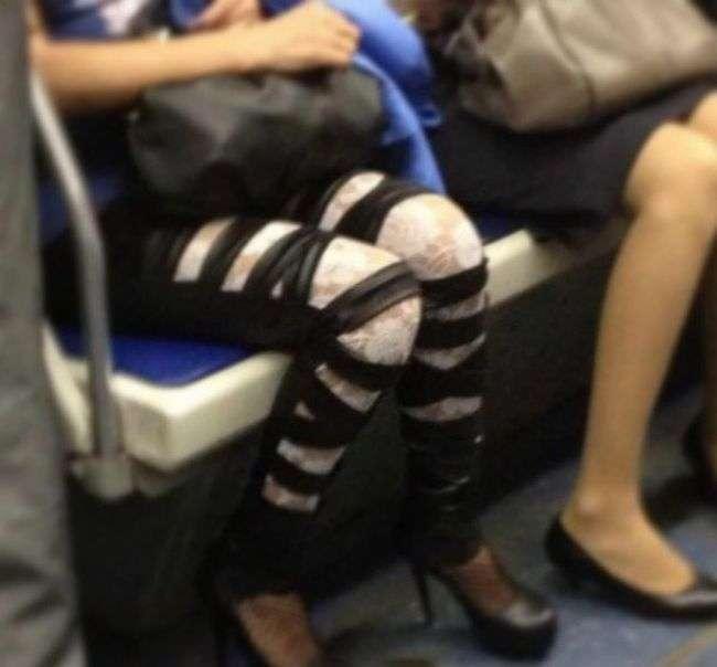 Незвичайні пасажири в метро Санкт-Петербурга (42 фото)