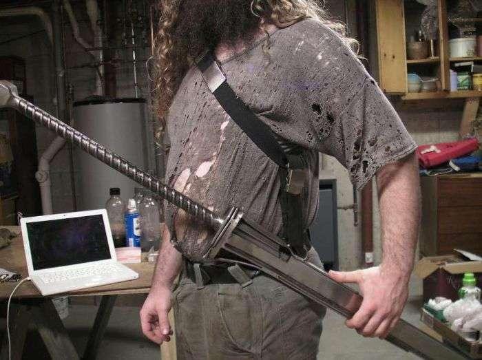 Холодну зброю відеоігор і фільмів від коваля Майкла Ктулху (21 фото)