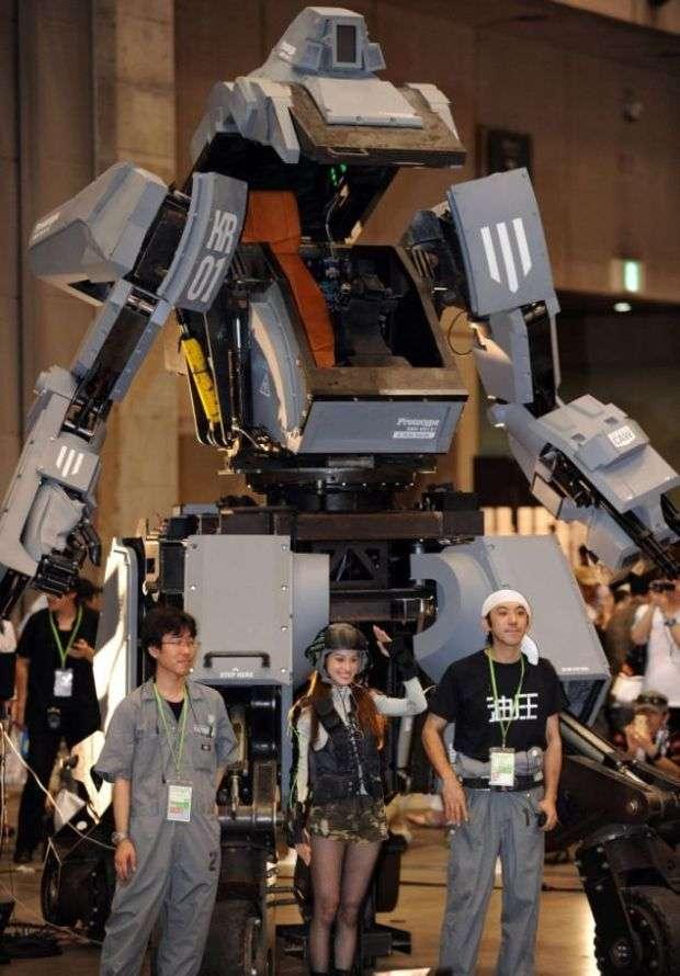 Роботизований костюм Kuratas надійшов у продаж за 1 млн $ (19 фото)