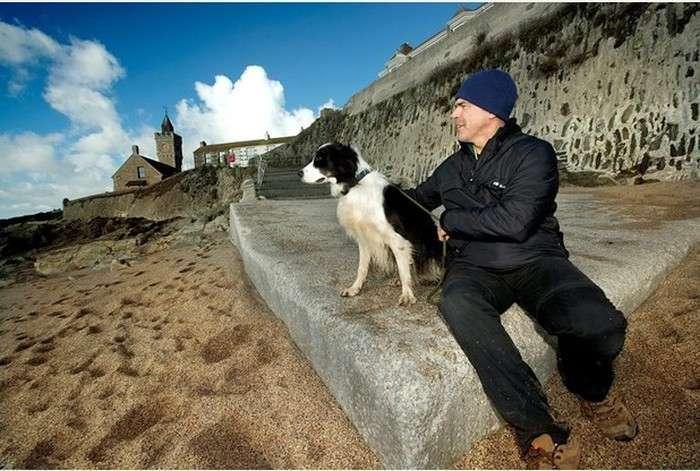 Чудесне повернення пляжу у Великобританії (4 фото)