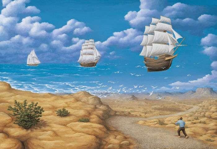 Дивовижні оптичні ілюзії від Роберта Гонсалвеса (46 фото)
