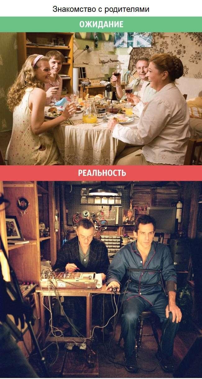 Очікування і реальність у відносинах між чоловіками і жінками (11 фото)