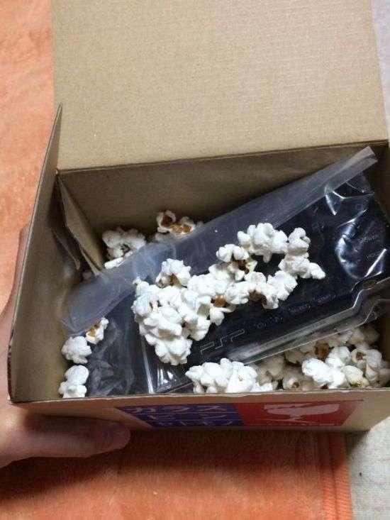 Їстівний матеріал для упаковки крихких предметів (2 фото)