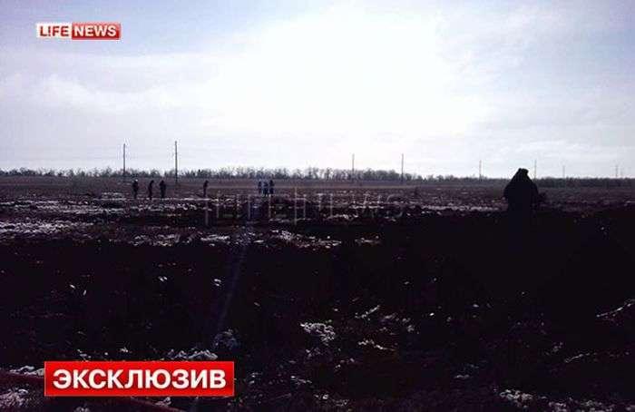 У Волгоградській області розбився літак СУ-24 (4 фото + відео)