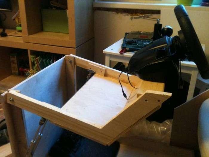 Саморобний розкладне гоночне крісло для автосимулятора (36 фото + відео)