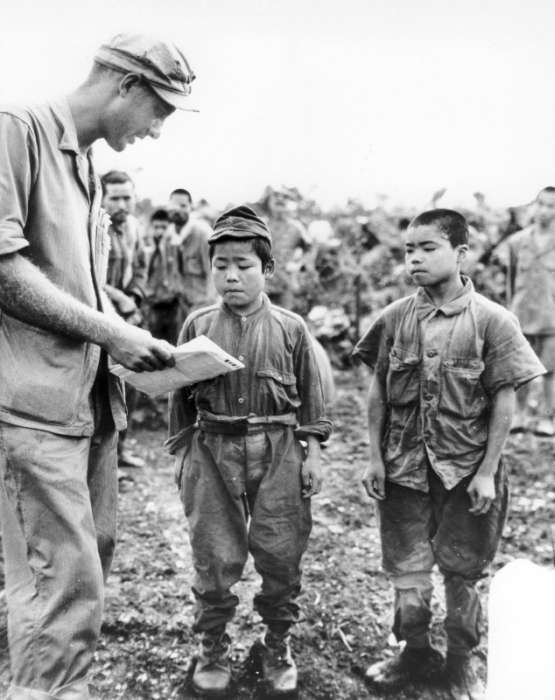 Полонені японські солдати в роки Другої світової війни (20 фото)
