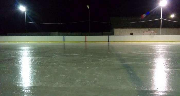 Хокейний майданчик власними силами (42 фото)