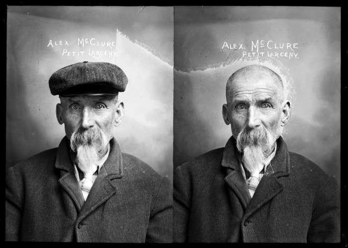 Як виглядали американські злочинці початку ХХ століття (23 фото)