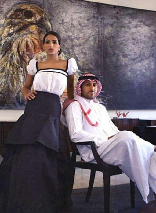 Життя сучасної близькосхідної принцеси Діни Абдулазіз Аль Сауд (15 фото)