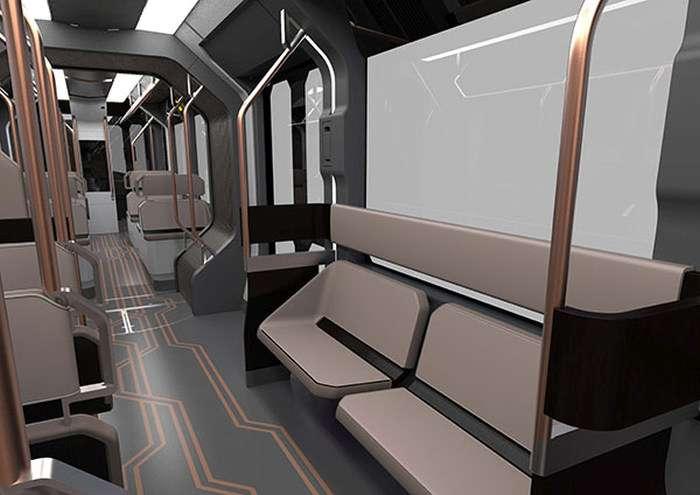Уралвагонзавод представив зображення серійної моделі трамвая R1 (17 фото)