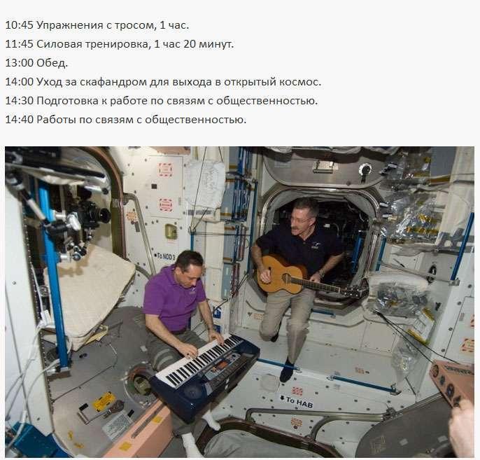 Робочий день космонавта на МКС (5 фото)