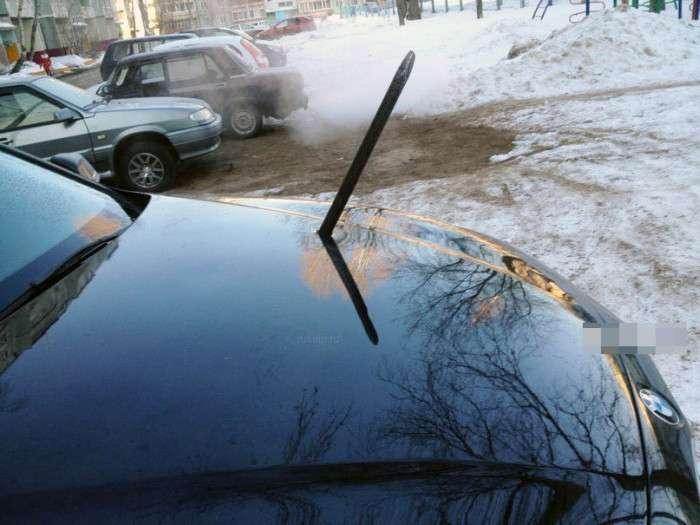 Автоместь від суворого жителя Челябінська (3 фото)