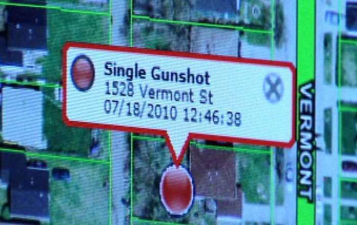 У Нью-Йорку зявилася система, яка інформує поліцію про випадки використання вогнепальної зброї (4 фото)