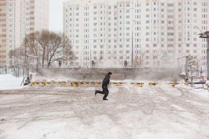 Як Москва позбавляється від снігу (18 фото)