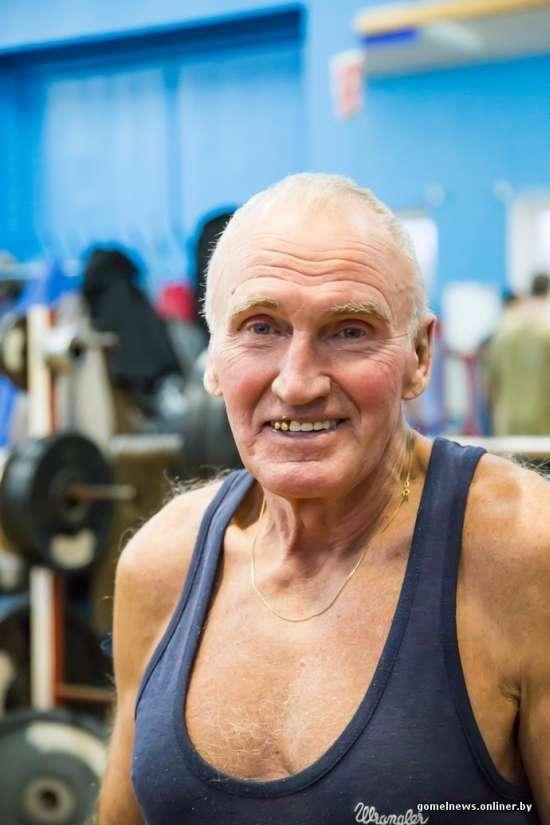 Віктор Єршов - спортивний пенсіонер Білорусії (18 фото)