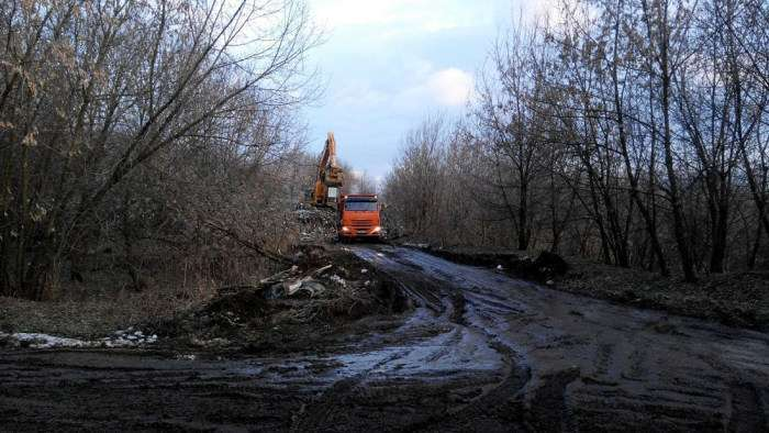 Незаконного звалища в Москві скоро не буде (6 фото)
