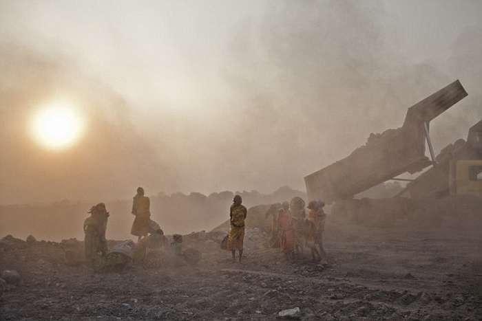 Джхария - місто в диму (24 фото)