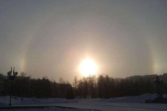 У небі над Челябінському зявилося відразу три світила» (8 фото)