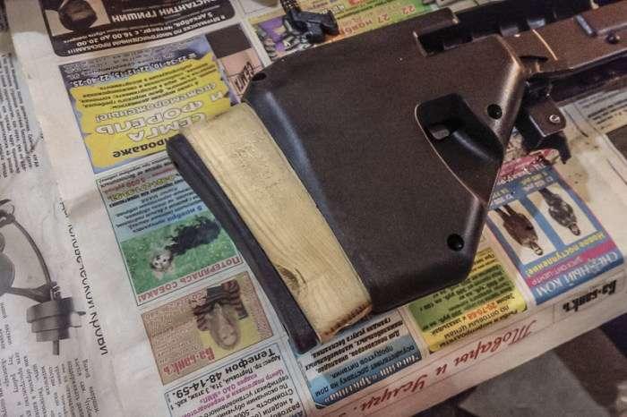 Моддінг карабіна Сайга 20К за допомогою буллпап комплекту (25 фото)