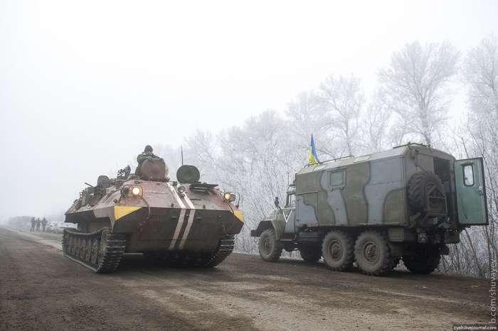 Підсумки першого дня перемиря на Донбасі (8 фото)