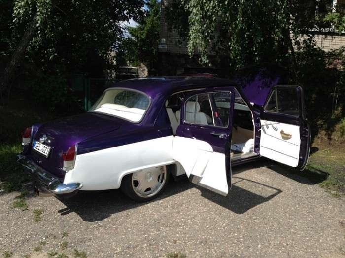 Гібрид «Волги» і Mercedes від литовських ентузіастів (12 фото)