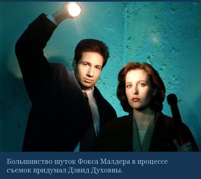Цікаві факти про культовому серіалі «Секретні матеріали» (10 фото)