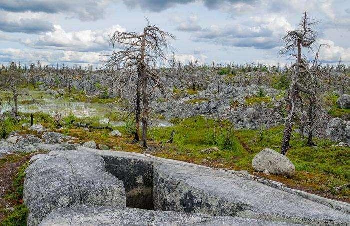 Дивовижна гора Воттоваара — невідома памятка Карелії (31 фото)