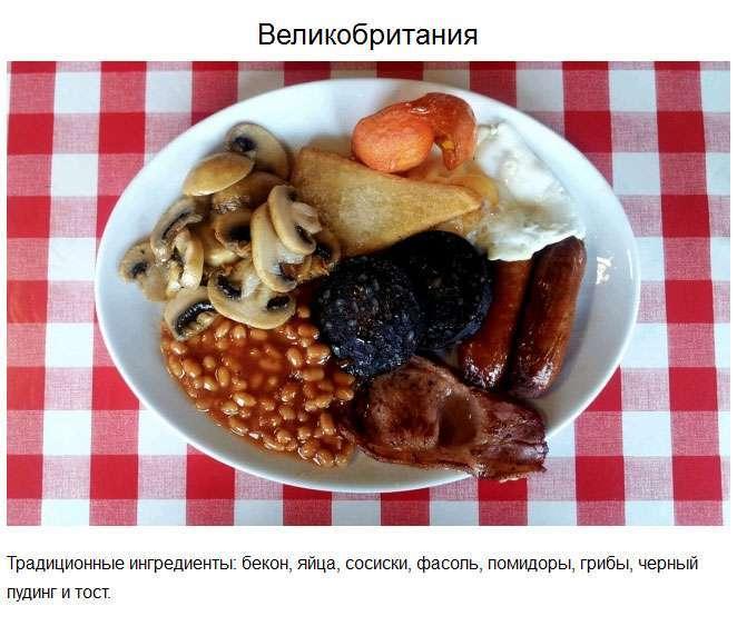 Традиційний сніданок у різних країнах світу (23 фото)