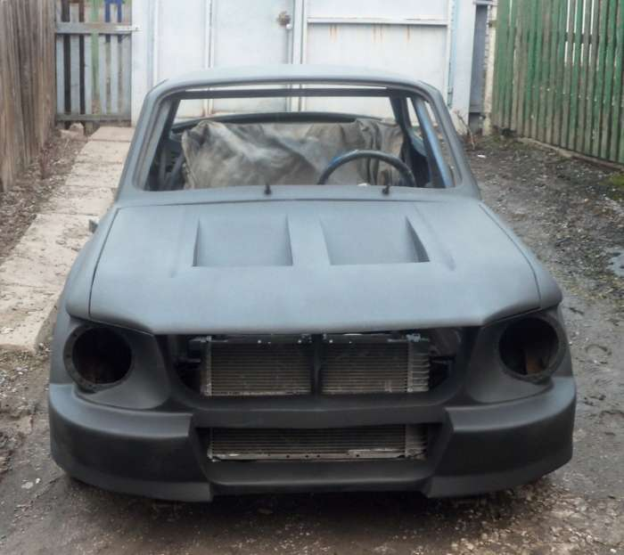Унікальний ЗАЗ 968 «Запорожець», стилізований під Ford Mustang (34 фото)